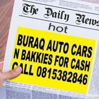 Wanted wanted urgently cars and bakkies for cash