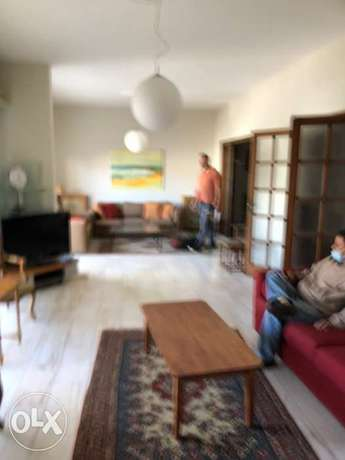 200m 3bedroom furnished sodeco mathaf behind french embassy $ only