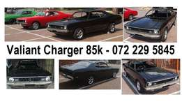 Black Valiant charger R85000