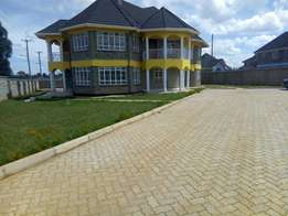 four bedroom house lower elgon view kshs 95,000