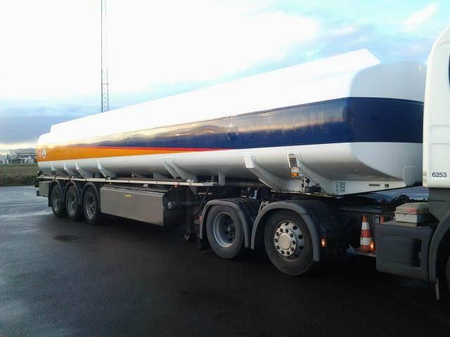 Kaessbohrer 47000 Liter ADR Gazole/Diesel Pomp - 2005