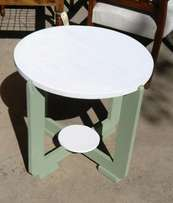 PAINTED Round Side Table (Par 1777)