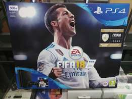 Ps4 500gb Slim Console with Fifa 18 Bundle