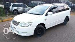 toyota fielder on qick sale