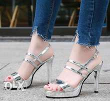 Crystal High Heel Sandals