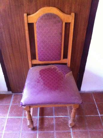6 solid oak chairs Sydenham - image 1