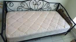 Day bed with single bed matress