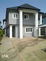 stunning and fully detached newly built 5br dplx at omole ph2