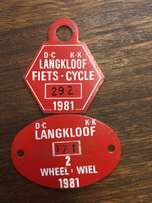 Langkloof Bicycle Licences