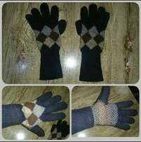 Warm Double Layered Cotton Gloves For Sale