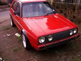 Golf 1.8 ENGINE only
