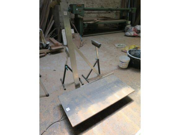 Sale roller tool trolleys, aluminium square, roller tray hand