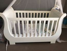 Treehouse sleigh cot and compactum