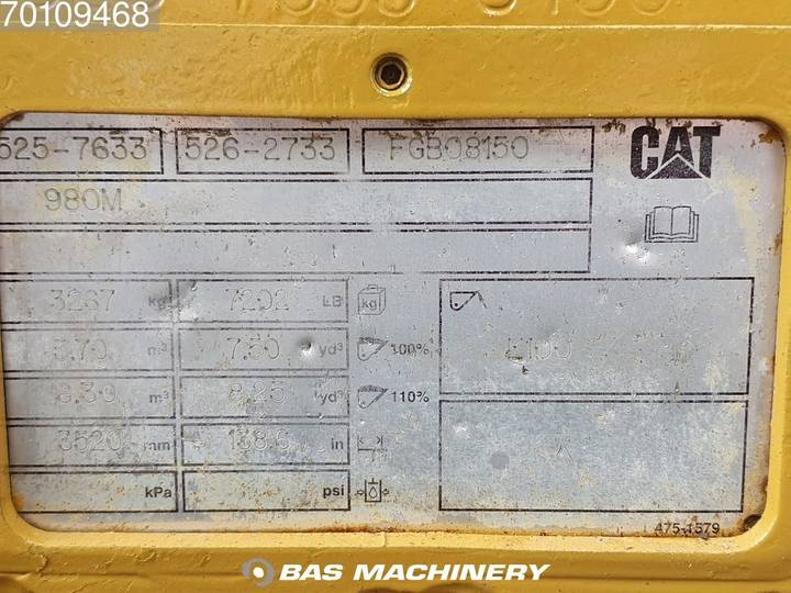 Caterpillar 980 K Nice and clean condition - 2014 - image 18