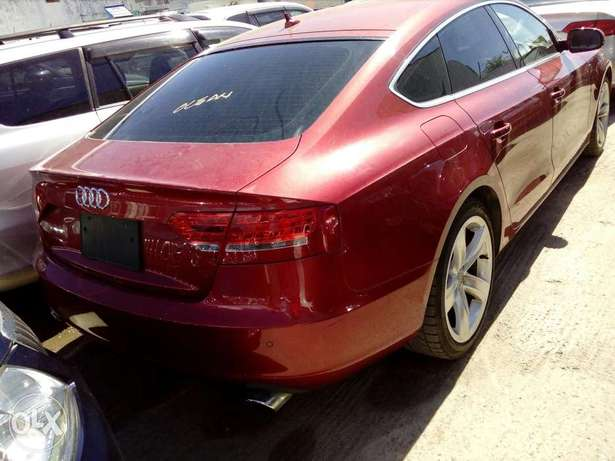 Audi A4 red colour new plate number Mombasa Island - image 1