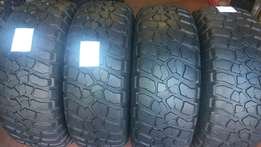 BF goodrich tyres for sale