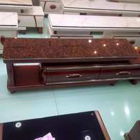 Plasam tv stand brown 1.4m to 1.8m