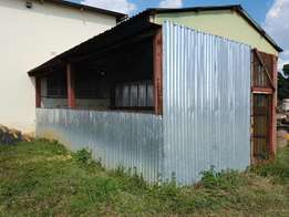 Steel Building 4×8m×3m height