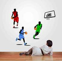 AMAZING Basketball TEAM Wall Stickers
