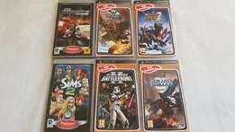Various PSP games