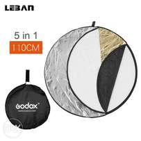 "Godox 110cm 43"" 5 in 1 Collapsible photography Reflector Diffuser Disc"