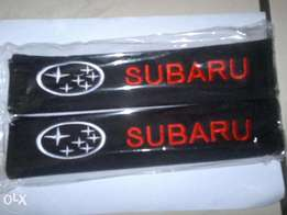 Brand New Subaru Scooby all models Seat Belt Cover Shoulder Pads
