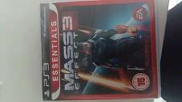 PS3 game - Mass 3 Effect