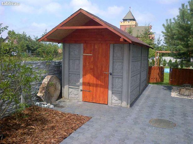 Archiwalne Garaże Budynki Domki Hale Ogrodzenia Z Płyt
