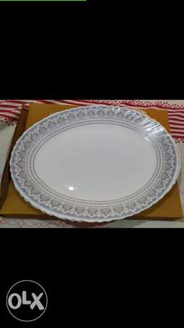 Borosil Rice Plate Set of 2 Pieces New Box Packed