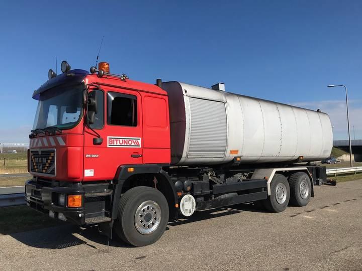 MAN 26.322 Ladog AL 28 6x4 Bitum Tanker - 1990
