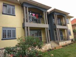 A new two bedroom apartment for rent in Bweyogerere