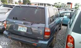 Cool Nisan Pathfinder 2001 model