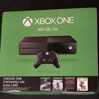 Microsoft Xbox One 500GB Console - Name Your Game Bundle, SEALED Brand