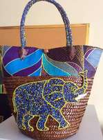 African unique beaded bags