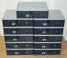 Dell and Hp Desktops core 2 duo / core i5 machines avaiable