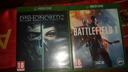Dishonored 2 & Battlefield 1