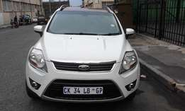 Ford Fuga 2.0 DSG Model 2013 Colour White 5 Doors Factory A/C&MP3 Play