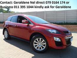 2010 Mazda CX-7 2.5 Dynamic A/T Excellent Condition 98000kms Geraldene