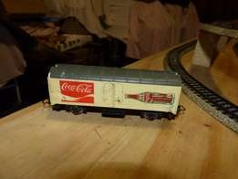 HO scale Coke Box Wagon See Pictures