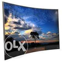 new TCL 55inch curved Smart TV full HD