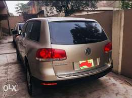 Volkswagen touareg 5 months used