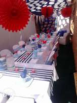 Tembisa stretch tent and decor