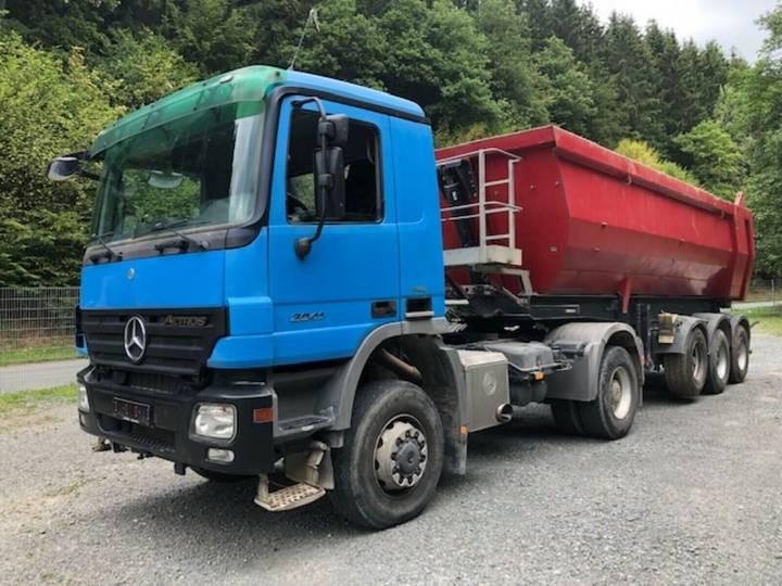Mercedes-Benz 2041 AS ** Meiller MHPS 41/3 Kippauflieger ** - 2007