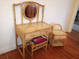 Bamboo Dressing & side Table