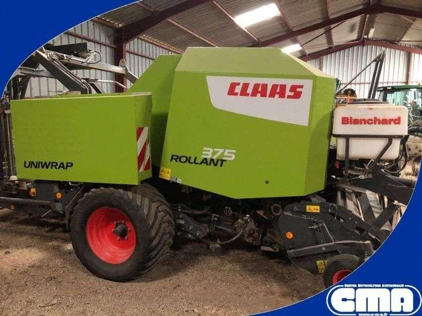 Claas Rollant 375 Uniwrap - 2016
