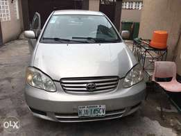 Toyota Corolla 2005 model(used) for sale