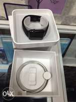 Apple iwatch 42mm gloss black uk used.