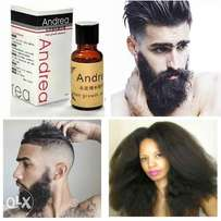 2 Packs Of Fast Hair And Beard Growth Essence
