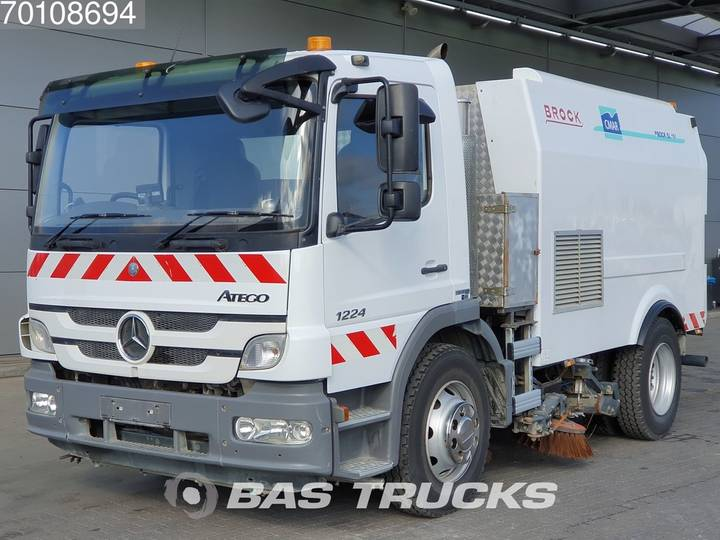 Mercedes-Benz Atego 1224 K 4X2 Manual RHD Steelsuspension Euro 5 Brock ... - 2013