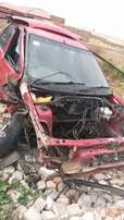 Stripping Ford Escort for spares